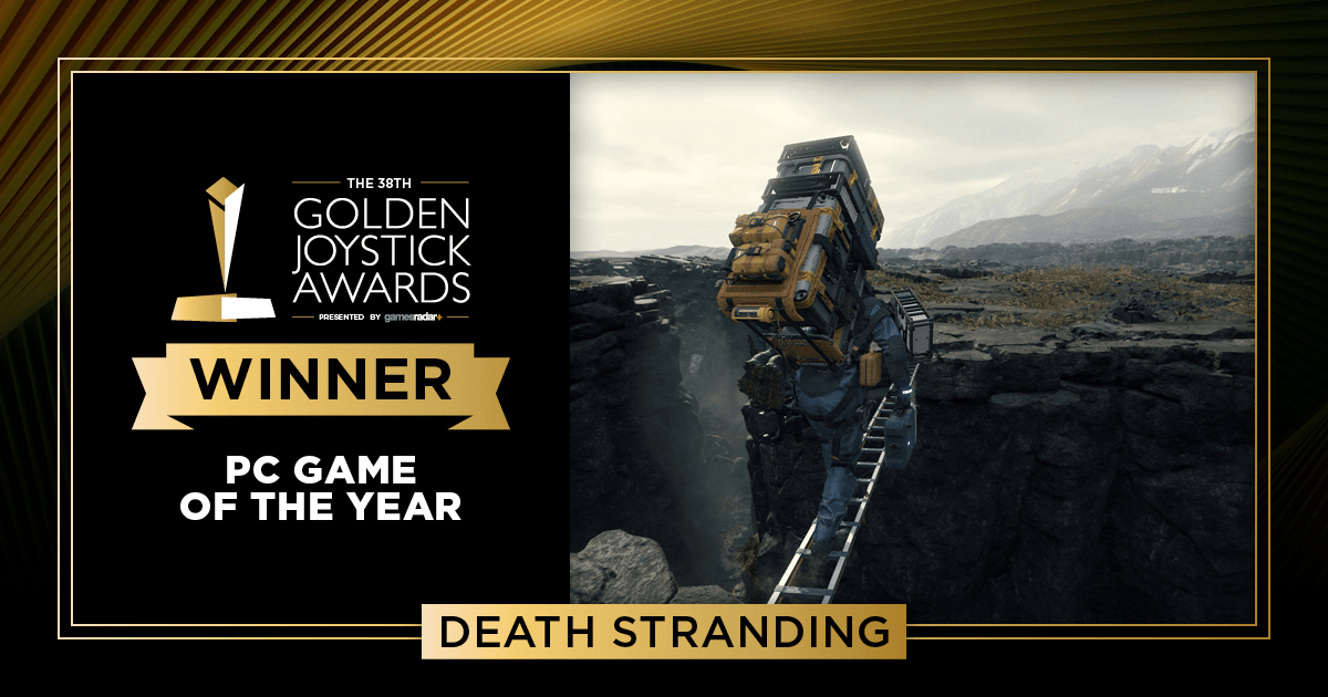 DEATH STRANDING TAKES HOME PC GAME OF THE YEAR AT THE GOLDEN JOYSTICK AWARDS