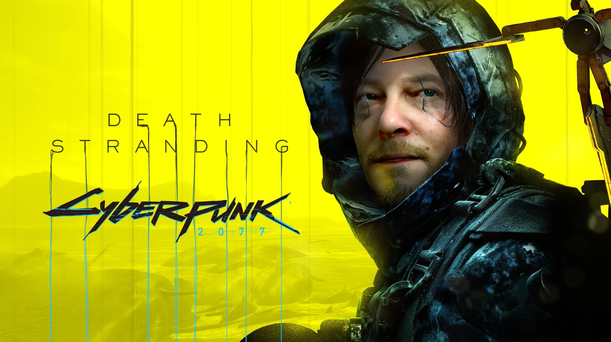 Introducing the DEATH STRANDING x Cyberpunk 2077 free update, OUT NOW on PC
