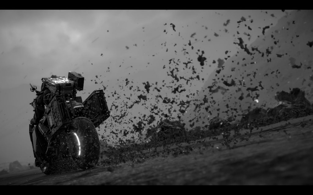 (Username: bad_fur_day1) This is a very cool photo. With the mudsplashes, really shows the speed of the bike! - Matsuhana